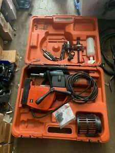 Slugger Magnetic Drill Hhm Mega Force 120v Made In Germany With Extra