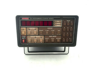 Keithley Instruments Model 224 Programmable Current Source Very Accurate