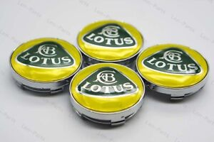 4pcs 60mm Car Wheel Center Hub Caps Badge Emblem Rim Dust Cover Logo For Lotus