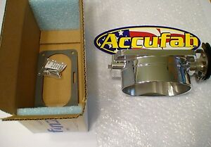03 04 Mustang Cobra Accufab Sbtb Single Blade Throttle Body Whipple Kenne Bell