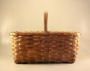 Antique Primitive Gathering Basket
