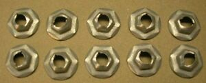 10733 Speed Nuts 5 16 Stud X 1 2 Hex 10 Pieces Chevy Ford Pontiac Buick Olds