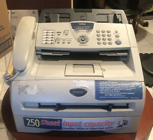 Brother Intellifax 2820 Laser Plain Paper Copy Print Fax Machine Printer