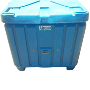 Used Thermosafe Plastic Insulated Shipping Container Hr30p Box Dry Ice Top Load