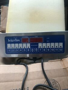 Prince Castle Llc Merlin Ii Single Function 12 Channel Kitchen Timer 740 t12