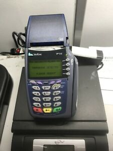 Verifone Vx510 Omni 5100 Credit Card Terminal With Power Cord f16