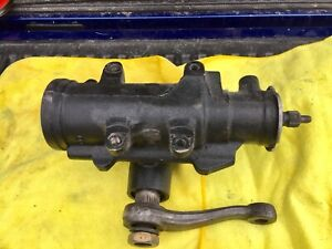 1965 Chevy Chevelle El Camino Gm Power Steering Gear Box Gearbox Used