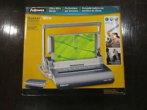 Fellowes Quasar Wire Binding Machine Model Crc 52174