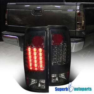For 1997 2003 Ford F150 F250 Styleside Led Tail Brake Lights Lamps Smoke