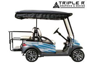 Golf Cart Full Body Wrap For Club Car Precedent