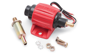 Edelbrock 17303 Universal Electric Fuel Pump 38 Gph 2 3 5 Psi Free Shipping