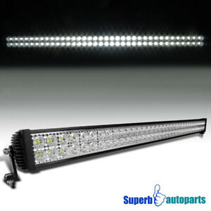 47 X 3 8 72 Smd Led Rectangular Driving Work Light Truck Off Road 216w Fog Lamp