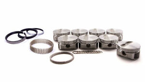 Wiseco pro Tru Sbc 4 040 In Bore Flat Top Forged Piston 8 Pc P n Pts506a4