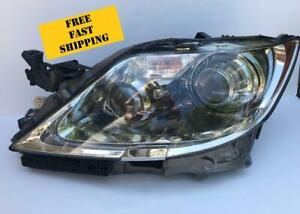 2007 2009 Lexus Ls460 Left Lh Driver Headlight Xenon Hid Complete Assembly Oem