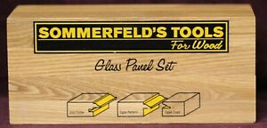 Sommerfeld s Tools 3 Piece Glass Panel Set 1 2 Shank