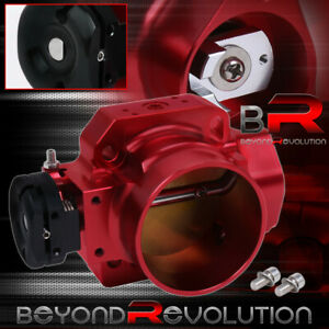 Aluminum Performance 70mm Red Throttle Body W Bolts For Honda B D F H Series