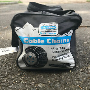 Laclede Chain Company Cable Tire Snow Chains Fits Sae Class S