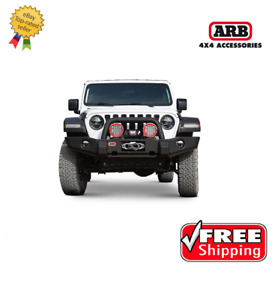 Arb 4x4 Accessories Classic Deluxe Bumper For Jeep Wrangler Jl 2018 2019 3450440
