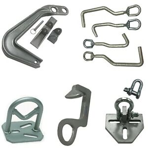 Frame Machine Hook And Clamp Set For Collision Repair compare To Mo clamp