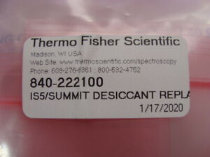 Thermo Is5 Desiccant Replacement Package P n 840 222100