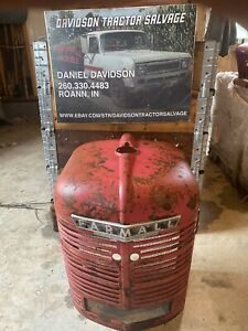 Ih Farmall H And Early Super H Tractor Grill Prefect No Dents Nice One