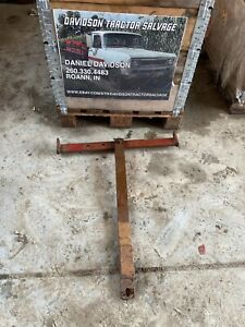 Ih Farmall Swinging Drawbar 140 130 Super A 100 Tractorsantique Tractor