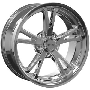 4 ridler 606 17x7 5x4 75 0mm Chrome Wheels Rims 17 Inch
