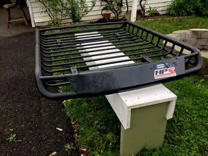 Roof Cargo Basket For Car And Van Or Suv And Utility Vehicle All Weather
