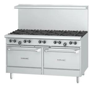 Garland G60 10cc 60 Lpg 10 Burner Range With 2 Convection Ovens