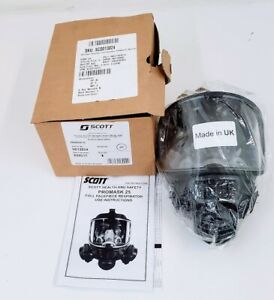 Scott Promask 25 Full Facepiece General Use Respirator 013024 M l