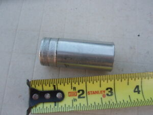 Old Snap On 3 8 Drive Deep Socket 13 16 Sf261 Good Condition