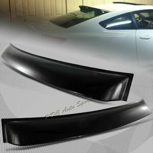For 2012 2015 Honda Civic Coupe 2 Door Abs Black Rear Roof Window V