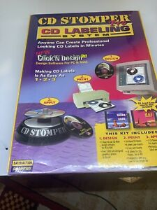 Cd Stomper Pro Cd Labeling System Brand New Factory Sealed D