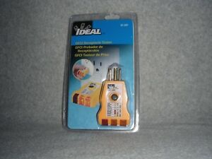 Ideal Gfci Receptacle Tester Model 61 501 factory Sealed Free Ship