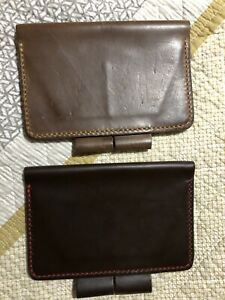 Leather Field Notes Covers two Covers
