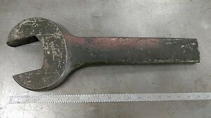 Fairmount 3 1 2 Open End Wrench Vintage Iron Worker Farm Forged Steel Tool Usa