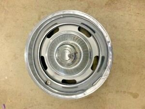 1 Corvette 1967 1968 Dc 15 X 6 Rally Wheel Rim