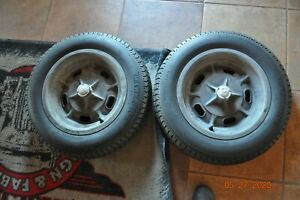 Indy Car Magnesium Spindle Mounted Rims