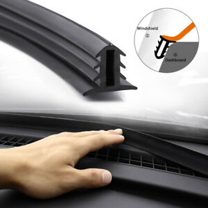 1 6m Universal Rubber Seal Strip Dashboard Windshield Edge Trim Moulding Strip