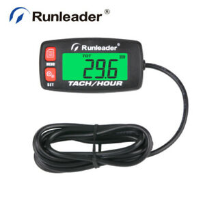 Lcd Maintenance Hour Meter real time Rpm Records For Tractor Outboards Generator