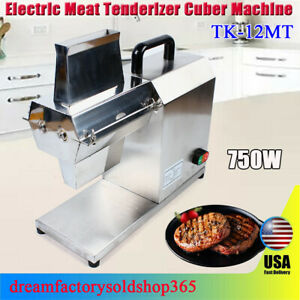 Pro Commercial Meat Tenderizer Electric Tenderizer Stainless Steel 750w Tool
