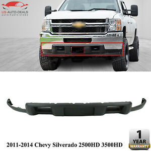 Front Lower Valance Air Deflector For 2011 2014 Chevy Silverado 2500hd 3500hd