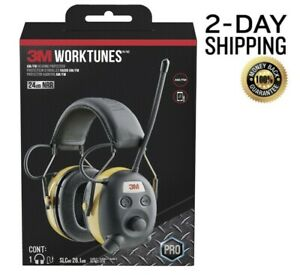 Work Tunes Safety Headphones For Hearing Protection Bt 3m Digital Radio Am fm