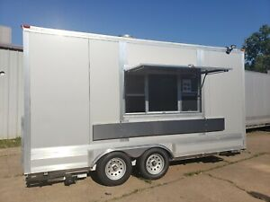 New 2020 8 X 16 Enclosed Concession Mobile Kitchen Food Truck Vending Trailer