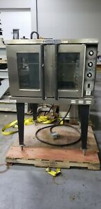 Bakers Pride Bco e1 Full Size Electric Convection Oven 208v 1 Or 3ph Clean