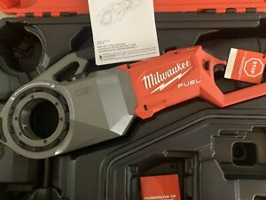 Milwaukee 2874 20 M18 Fuel One key 18v Pipe Threader W Support Arm