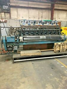 Emco Industrial Quilting And Embroidery Machine