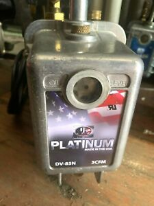 Jb Platinum Vacuum Pump 3cfm Dv 85n With Yellow Jacket Flare Kit