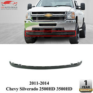 Front Lower Valance Air Dam Deflector For 2011 2014 Chevy Silverado 2500 3500 Hd