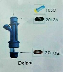 Fuel Injector Repair Kit Diy Delphi With Optional Filter Removal Tool